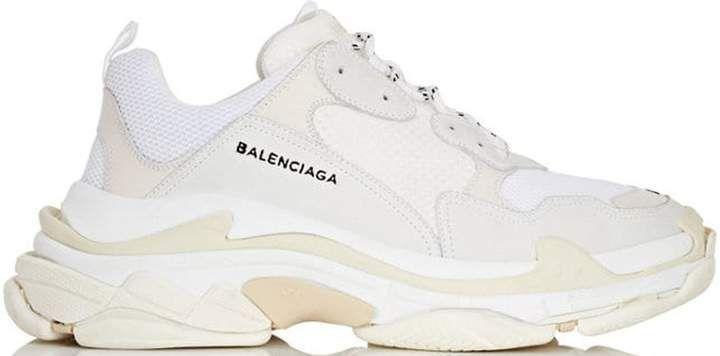 balenciaga triple s sneaker runner triple black off 58%