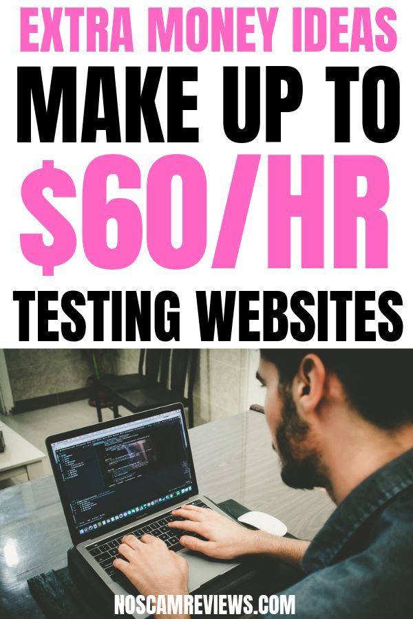 Extra Money Ideas: Make Up To $60/Hr Testing Websites! – Work from home jobs