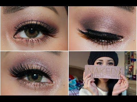 Urban Decay Naked 3 Palette: Holiday Makeup Tutorial