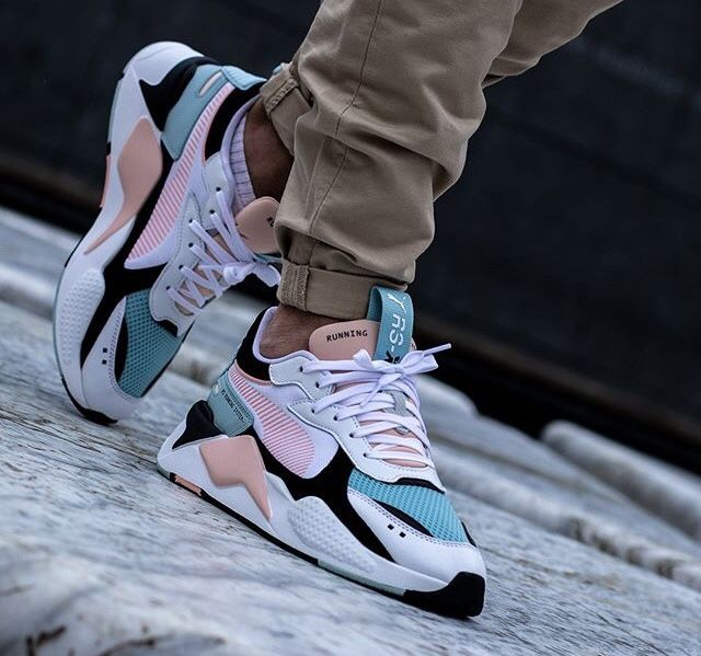 Puma rs x reinvention white peach bud | Nike schoenen ...