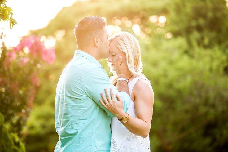 Stunning Garden Engagement Session by Amy Allen Photography --- Melissa Hearts Weddings