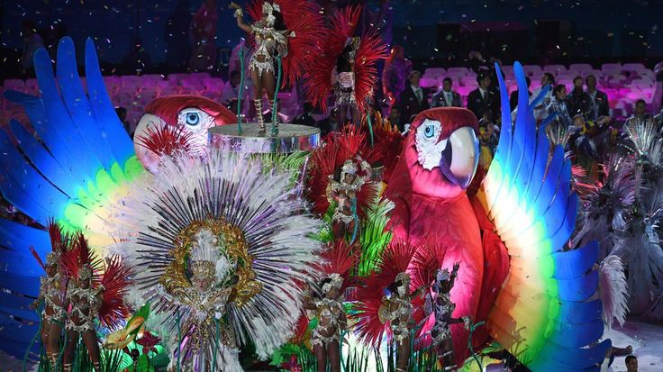 Shout out to these perfect moments from Rio's closing ceremonyAnd with a giant parrot and a samba it was all over.  Image: MANAN VATSYAYANA/AFP/Getty Images  By Elise Cooper2016-08-22 02:19:57 UTC  Rios 2016 Olympics have finally drawn to a close  with dancing a bit of rain and a surprise appearance from Mario. It was awesome.  Here are some of the most joyous weird and jubilant moments from Rios closing ceremony for the 2016 Olympic games.  Kim Jong Un sort of made a cameo.  Athletes…