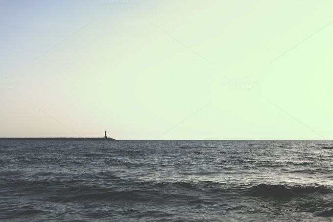 Lighthouse by Photo Infusion on @creativemarket