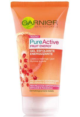 Garnier Pure Active Fruit Energy - Gel esfoliante energizzante