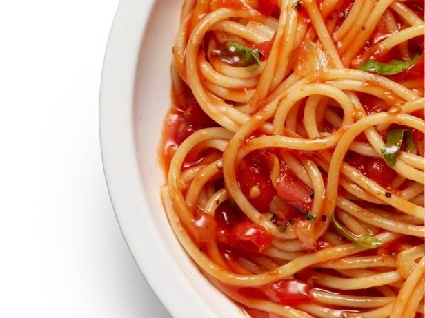Get Food Network Kitchen's Spaghetti Marinara Recipe from Food Network