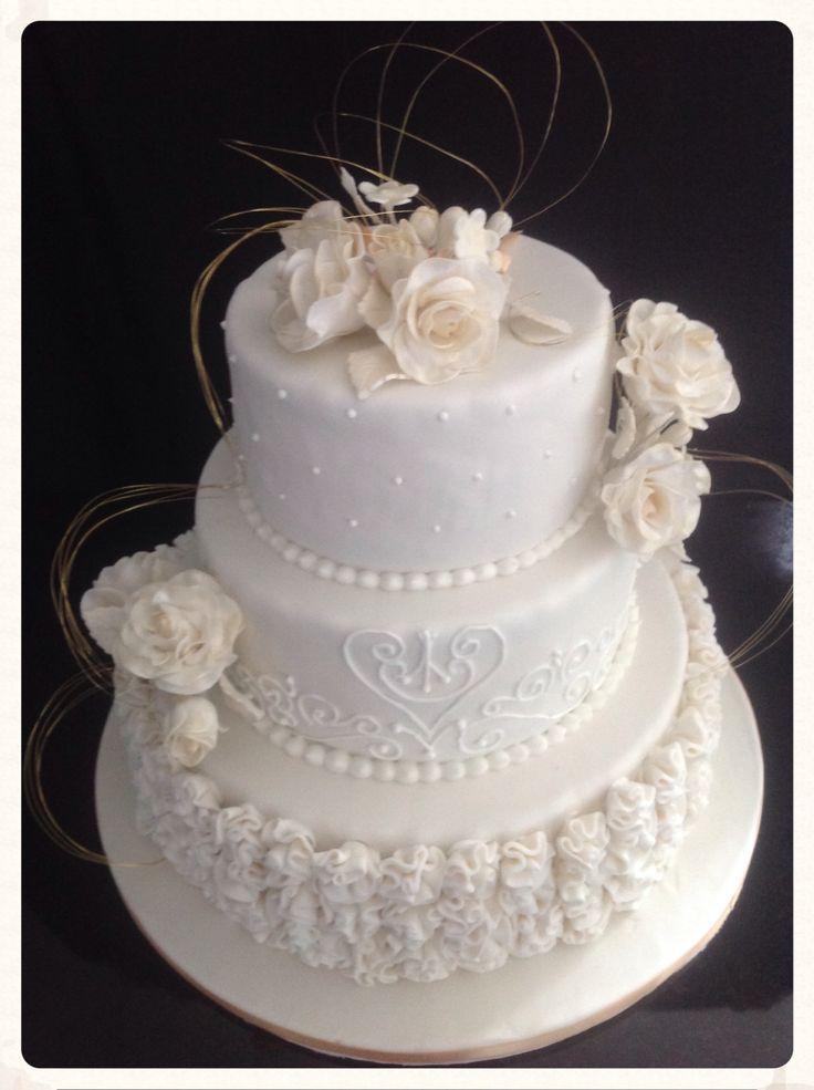 Wedding cake/ bruidstaart