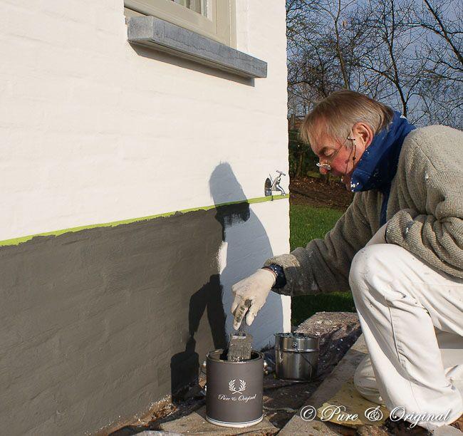 Krijt & kalk verven, voor muren, vloeren en meubelen  binnen en buiten.  www.ilsedamhuis.nl