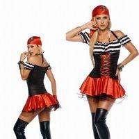 Tesoro pirata de la moza del traje adulto 9S1160