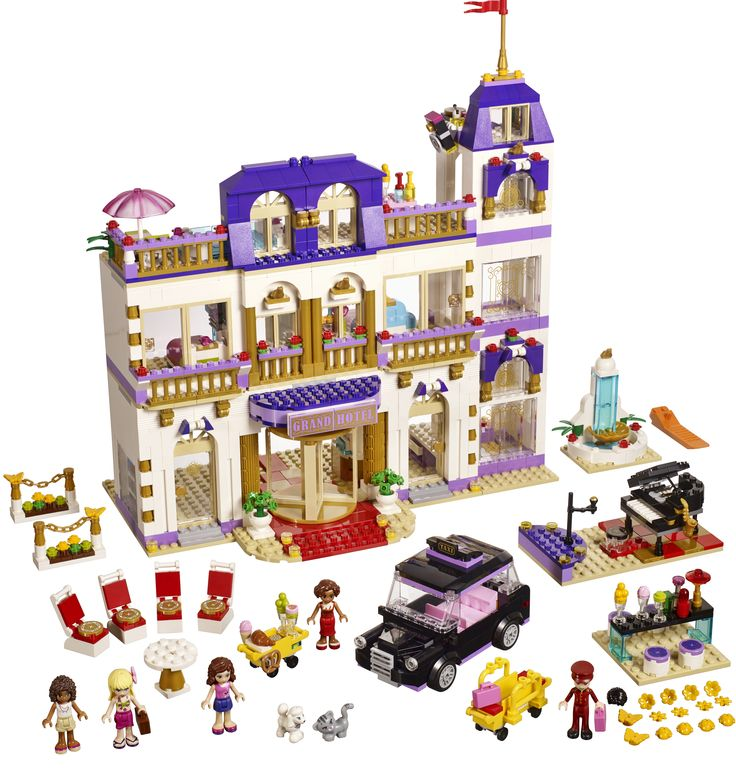 LEGO Friends Grosses Stadthotel