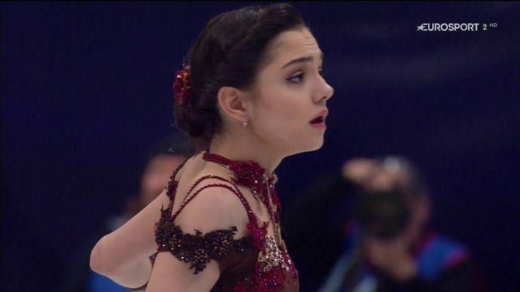 Evgenia Medvedeva European Championships 2018 FP B.ESP - YouTube