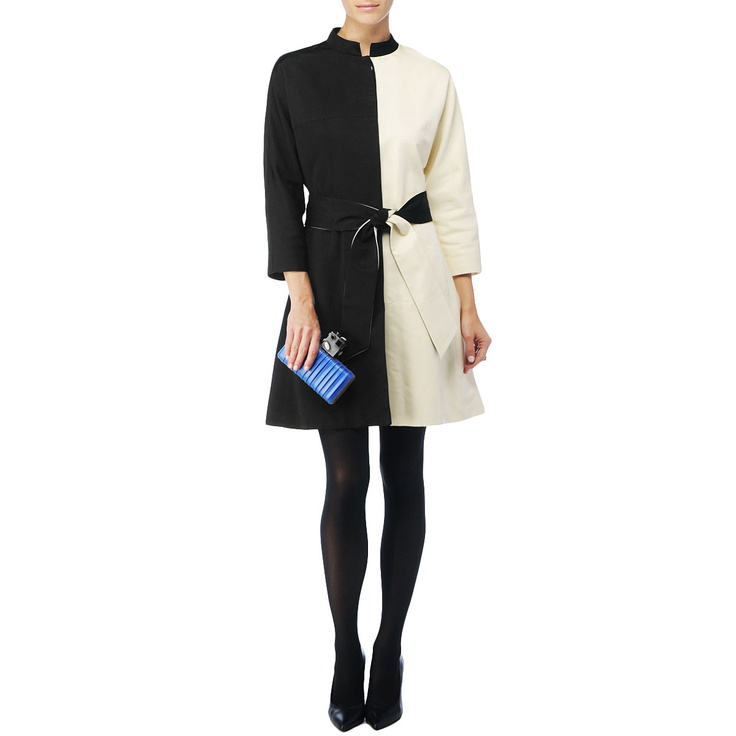 Kelly Wearstler Horizon coat. Love the mod look.