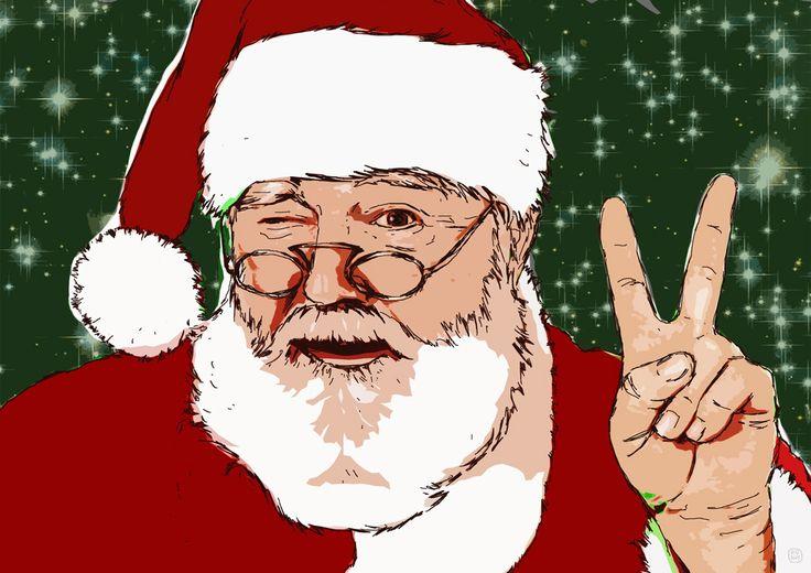Santa's Peace on Earth, din a4, 2016