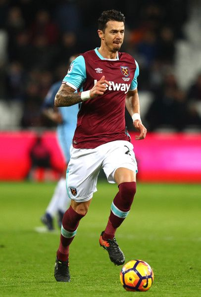 Jose Fonte Photos Photos - Jose Fonte of West Ham United in action during the Premier League match between West Ham United and Manchester City at London Stadium on February 1, 2017 in Stratford, England. - West Ham United v Manchester City - Premier League