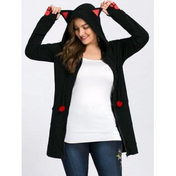 SHARE & Get it FREE | Plus Size Zip Up Hoodie with EarsFor Fashion Lovers only:80,000+ Items·FREE SHIPPING Join Dresslily: Get YOUR $50 NOW!