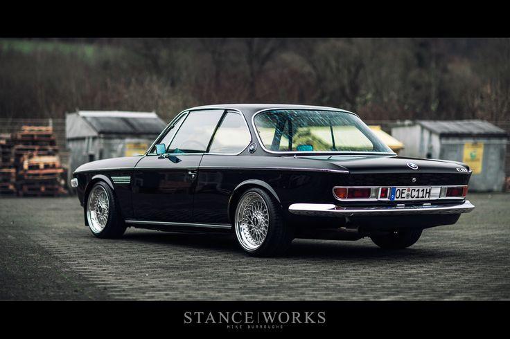 """chromjuwelen: """" Behind H&R – Christian Heine's BMW E9 3.0 CSi - Stanceworks.com. """""""