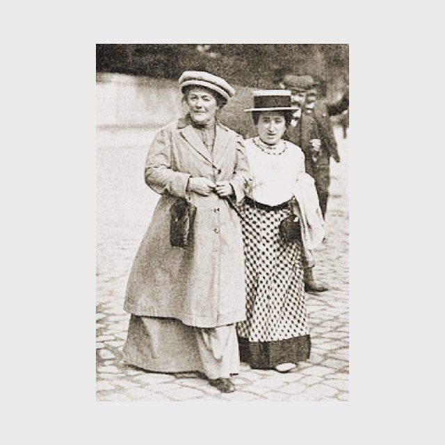 Celebrating International Women's Day with Clara Zetkin and Rosa Luxemburg  #HERSE #internationalwomansday #clarazetkin #rosaluxemburg #womensday