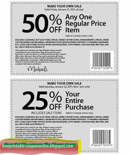 Michaels Coupons Michaels Coupon Free Printable Coupons Coupons