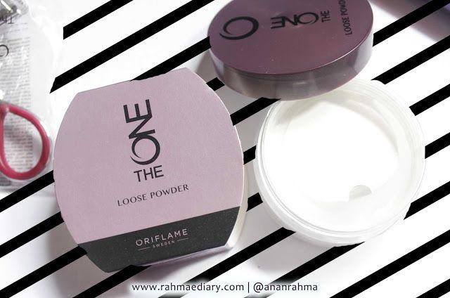 Oriflame : The One loose powder. translucent, light powder, no oil excess. for oily skin. #oriflame #makeup #loosepowder #oilyskin