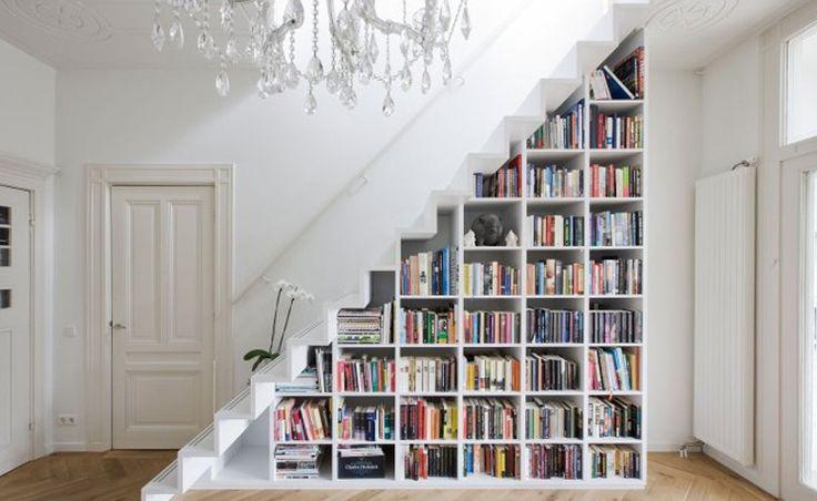 14 ideias criativas para aproveitar o espaço embaixo da escada - Dicas de Mulher