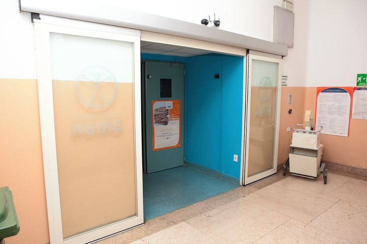 L'ingresso in reparto