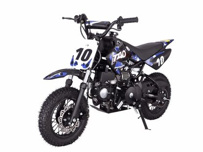 Jet Moto Youth Size 110 Pit Dirt Bike / Fully Automatic with Electric Start…