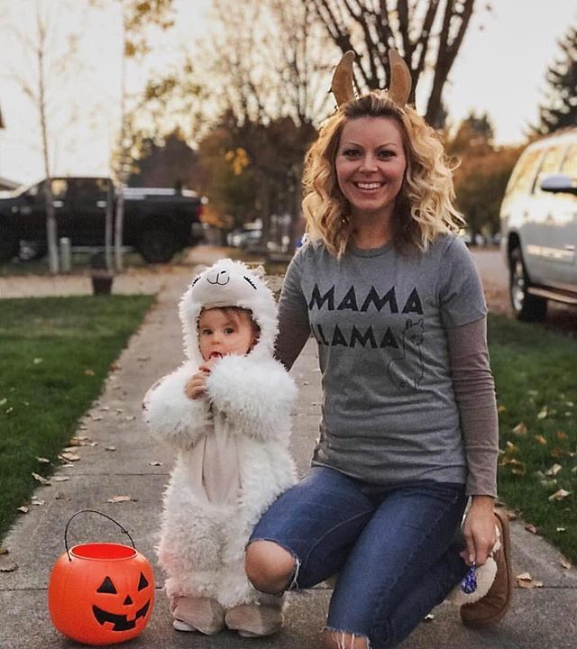 Loved seeing everyones Halloween pics on our feed. Wow you guys killed it with creativity this year! Here's @mrscocowest with our Mama Llama Tee. We didn't know our tees could be used as a costume! Your daughter is soooo adorable in her sheep costume!!  Love it? Check this shirt out below: https://threadtank.com/products/mama-llama?variant=35173143885 (scheduled via http://www.tailwindapp.com?utm_source=pinterest&utm_medium=twpin)