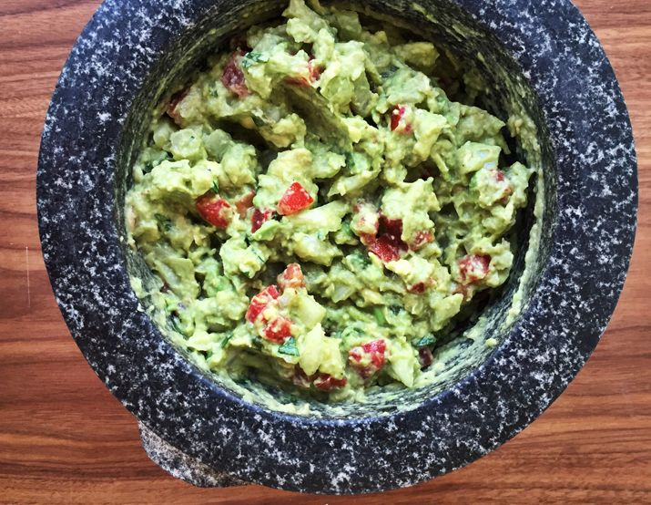 Homemade guacamole: Definitive, straight-forward and iconic. And oh yeah, damn tasty. More on Guacamole 8 Things to Do with Guacamole