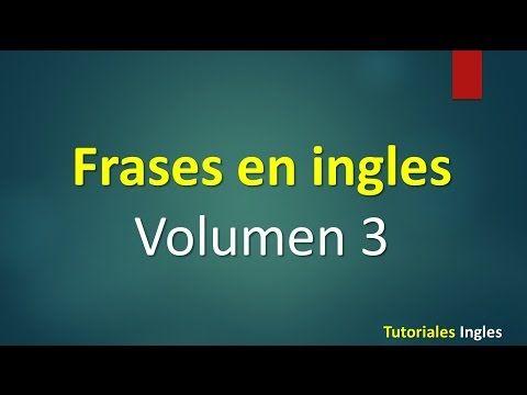 Lista de frases en inglés Avanzado leccion 2 - YouTube