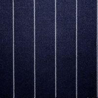 2CM Navy Chalk Stripe