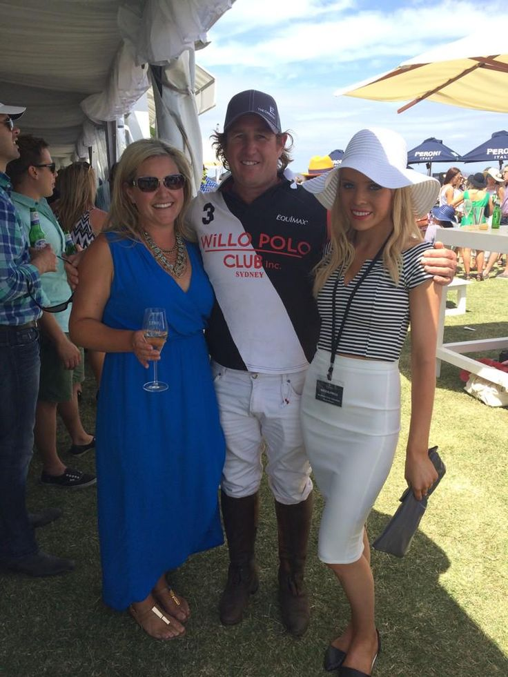 @RachelSCTV #polo @Barnbougle with former Aus team captain Andrew Williams. What a fantastic day. Full credit to Sattler family.