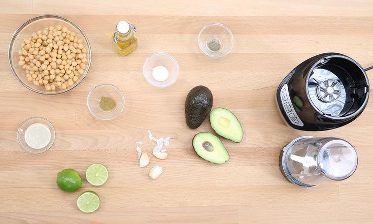avocado-hummus-selber-machen - Zutaten
