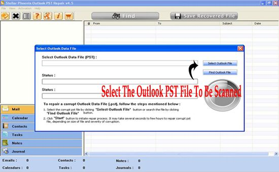 Fix Outlook PST Issues of Windows 7