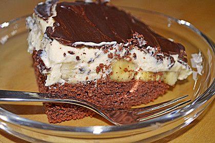 Blech - Bananenkuchen (Rezept mit Bild) von babi222 | Chefkoch.de