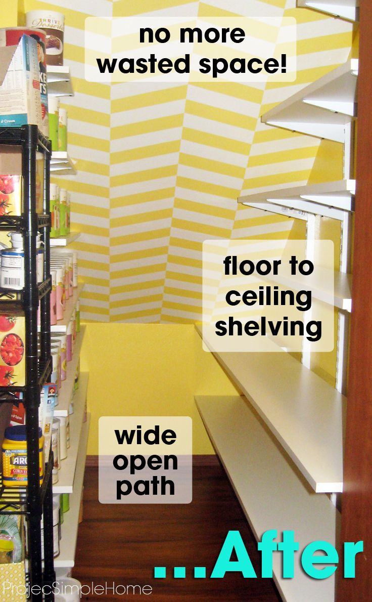 11 best Pantry images on Pinterest | Cupboard shelves, Under stairs ...