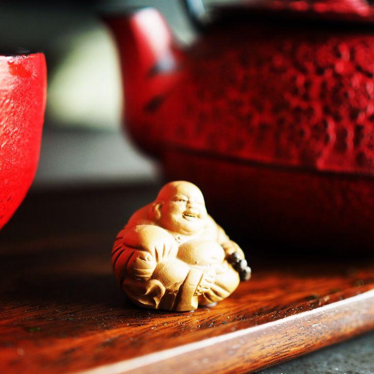 Tea time Buda Tetera japonesa