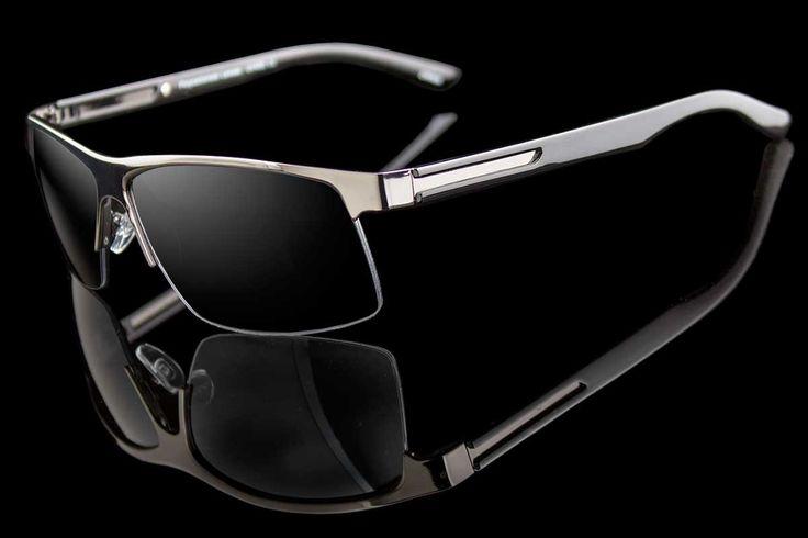 "Half Rim Hybrid Sport/Luxury Sunglasses ""Cordoba"""