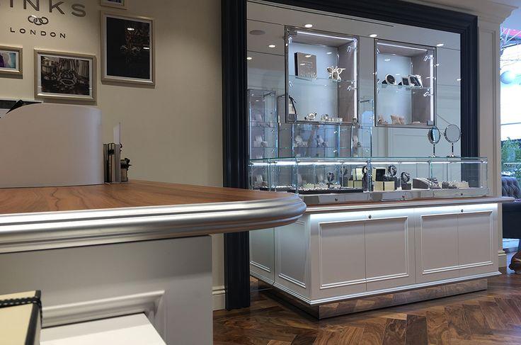 Links of London   Jewellery store   Nicosia   iidsk   Interior Design & Construction