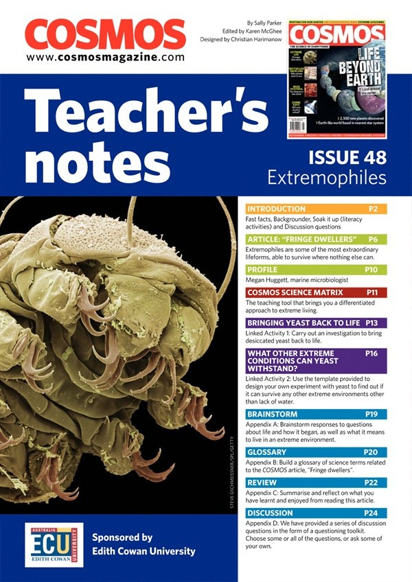 Teachers Notes INT : Issue 48, Page 1