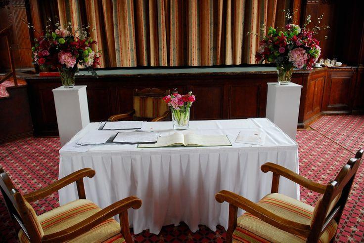 Tylney suite ceremony room