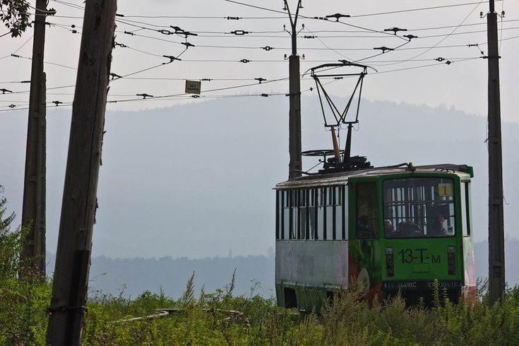 Златоустовский трамвай - самый живописный трамвай России. - Путешествуем вместе