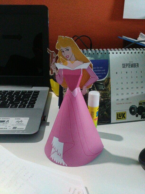 Aurora, @ office 4 co-worker