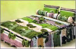 #Bedcover #FATA Collection #NaturalGreen from #IGo4BedCover   NATURAL GREEN  Ukuran Sprei 180 x 200 cm Ukuran sprei No. 1 (Satu) Ukuran sprei Queen atau Ukuran Sprei Double Harga : Rp 300.000.00,- ( harga belum termasuk ongkos kirim ) Untuk Pemesanan Lihat halaman #IGo4Bedcover berikut https://www.facebook.com/notes/igo4-bedcover/cara-pemesanan/1374629126111701