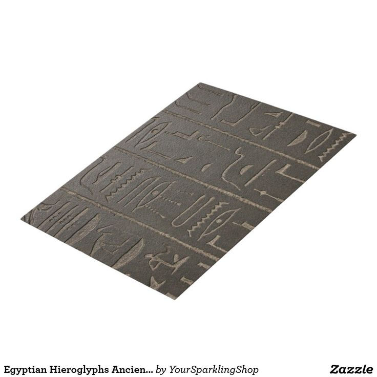 Egyptian Hieroglyphs Ancient Egypt Writing Symbols Jigsaw Puzzle