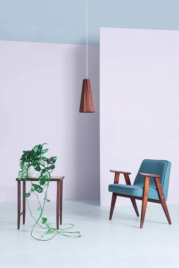 Photo: Kasia Białoń   Furniture: Sylwia Biegaj www.sylwiabiegaj.pl #renovation #furniture #chairs #chair #chierowski #366 #interior #design #midcentury #interiordesign #lamps #polishdesign #upholstery