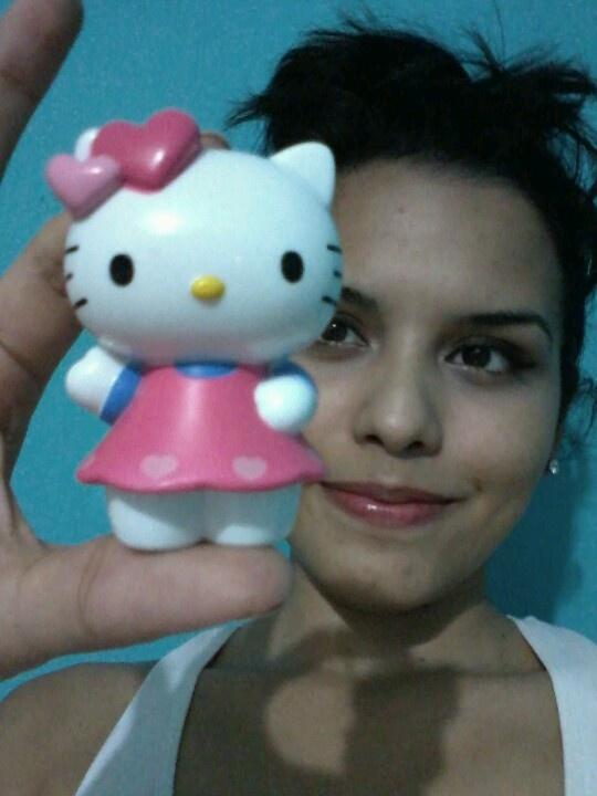 My kitty y yo! :)