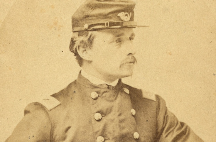 """Robert Gould Shaw - Colonel of the 54th Massachusetts, portrayed in the movie """"Glory"""" by Matthew Broderick."""