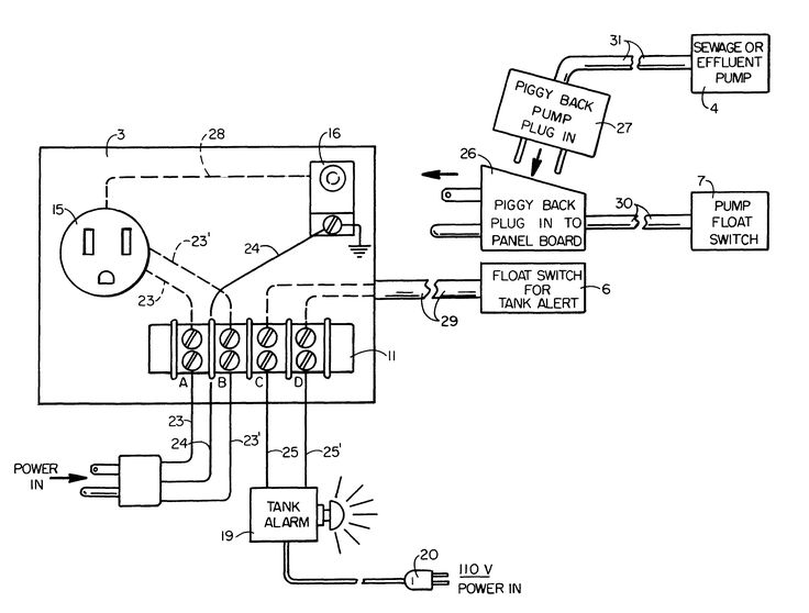 us06462666 20021008 d00000 and septic pump wiring diagram