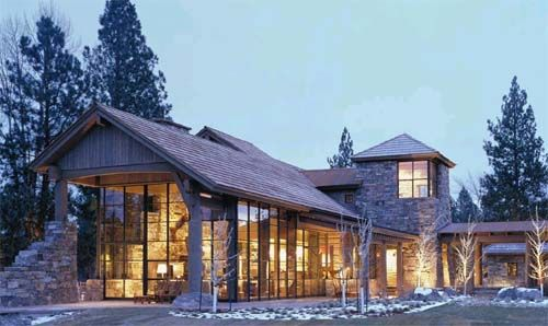 Western pole barns interior design architecture for Western home plans