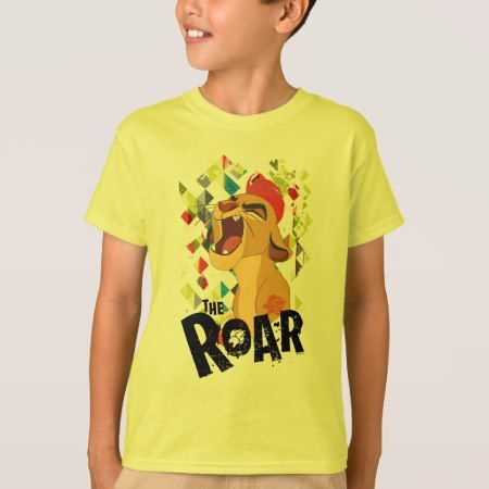 Lion Guard   Kion Roar T-Shirt - tap to personalize and get yours