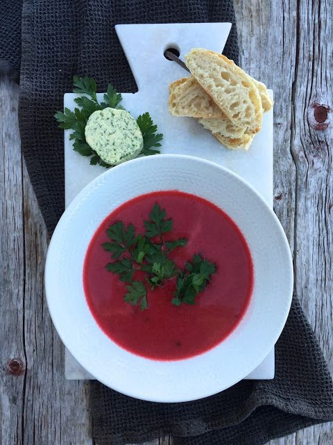 [kjøkkentjeneste]: Rødbetesuppe med Snøfrisk